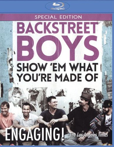 Backstreet Boys: Show Em What You're Made Of [Blu-ray] [2015] 28355414
