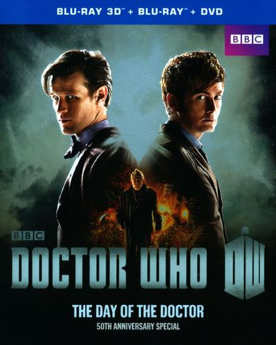 Doctor Who: The Day of the Doctor [2 Discs] [3D] [Blu-ray/DVD] [Blu-ray/Blu-ray 3D/DVD] 2836014