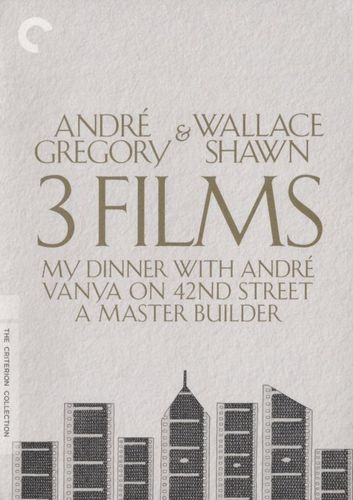 André Gregory & Wallace Shawn: 3 Films [Criterion Collection] [DVD]