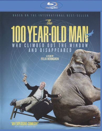 The 100-Year-Old Man Who Climbed Out the Window and Disappeared [Blu-ray] [2013] 28414194