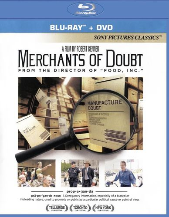 Merchants of Doubt [2 Discs] [Blu-ray/DVD] [2014] 28442148