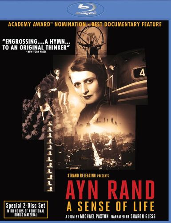 Ayn Rand: A Sense of Life [Blu-ray] [1997] 28485285