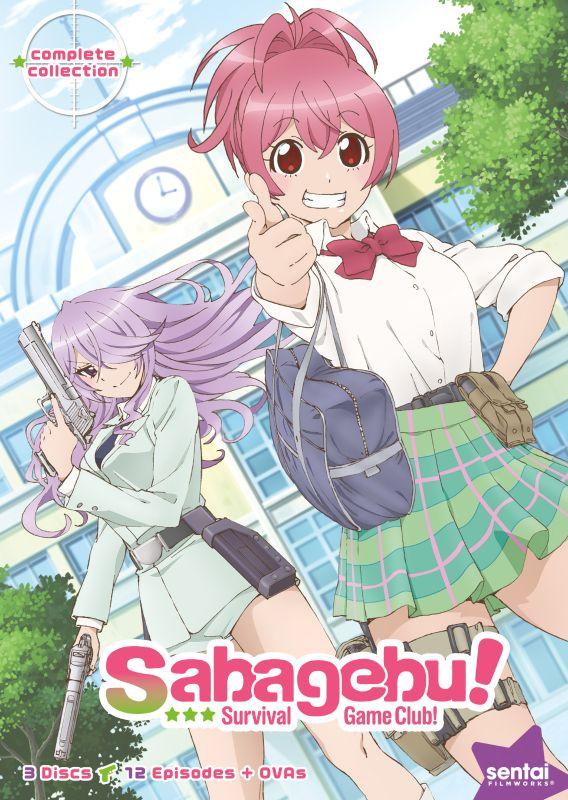 Sabagebu!: Survival Game Club - Complete Collection [3 Discs] [DVD] 28489608