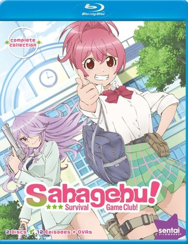 Sabagebu!: Survival Game Club - Complete Collection [Blu-ray] 28489899