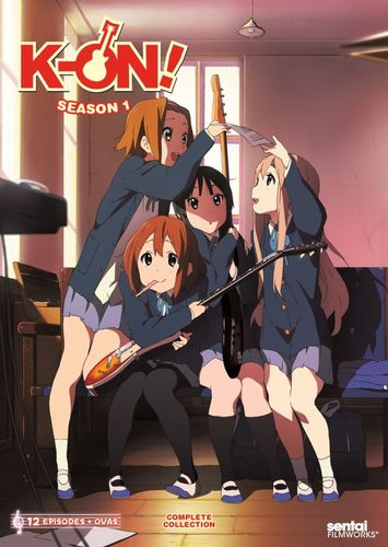 K-On!: Season 1 - Complete Collection [2 Discs] [Blu-ray] 28489935