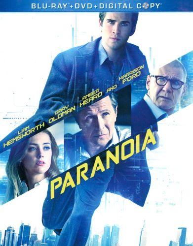 Paranoia [2 Discs] [Includes Digital Copy] [Blu-ray/DVD] [2013] 2855485