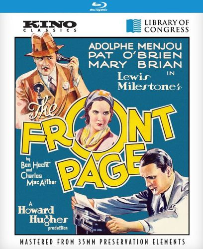 The Front Page [Blu-ray] [1931] 28618431