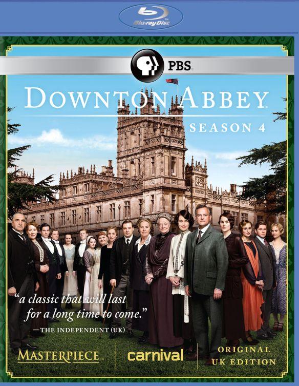 Masterpiece: Downton Abbey - Season 4 [3 Discs] [Blu-ray] 2865188