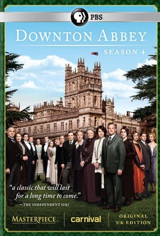 Masterpiece: Downton Abbey - Season 4 [3 Discs] [DVD] 2865202