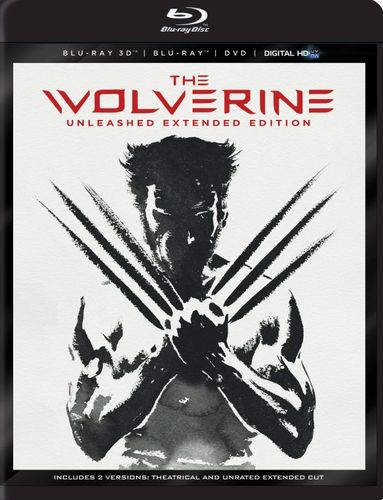 The Wolverine [Unleashed Extended Edition] [4 Discs] [Includes Digital Copy] [3D] [Blu-ray/DVD] [Blu-ray/Blu-ray 3D/DVD] [2013] 2868464