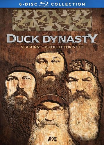 Duck Dynasty: Seasons 1-3 Collector's Set [6 Discs] [Blu-ray] 2868482