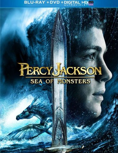 Percy Jackson: Sea of Monsters [2 Discs] [Blu-ray/DVD] [2013] 2868491
