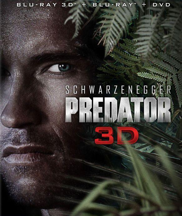 Predator [2 Discs] [3D] [Blu-ray/DVD] [Blu-ray/Blu-ray 3D/DVD] [1987] 2868526