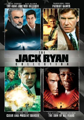 The Jack Ryan Collection [4 Discs] [DVD] 2868699