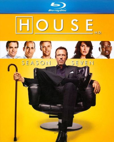 House: Season Seven [5 Discs] [Blu-ray] 2871176