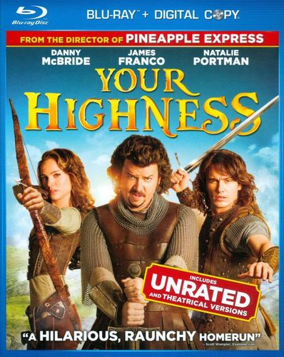 Your Highness [Includes Digital Copy] [Blu-ray] [2011] 2871246