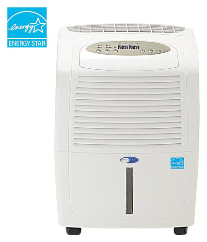 Whynter - 30-Pint Portable Dehumidifier - White ENERGY STAR Certified WHYNTER 30-Pint Portable Dehumidifier: Removes up to 30 pints of water per day; 3.3 amps; electronic controls with humidity sensor settings; washable prefilter; dual fan speeds