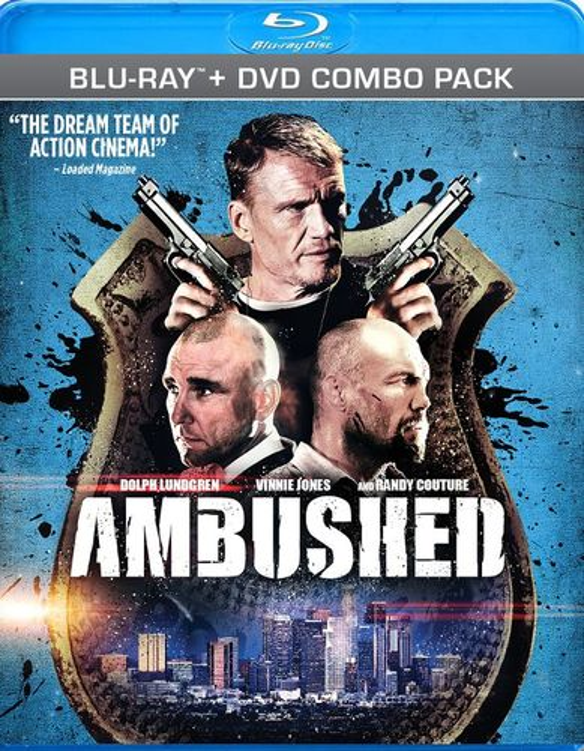 Ambushed [2 Discs] [Blu-ray/DVD] [2013] 2875389