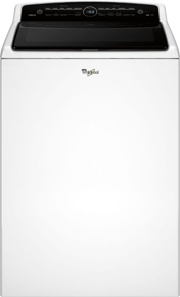 Whirlpool Cabrio 5.3 Cu. Ft. 26-Cycle High-Efficiency Top-Loading Washer White WTW8000DW