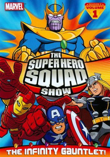 The Super Hero Squad Show: The Infinity Gauntlet - Season 2, Vol. 1 [DVD] 2877392
