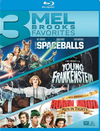 3 Mel Brooks Favorites: Spaceballs/Young Frankenstein/Robin Hood [Blu-ray] 28805367