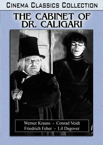 The Cabinet of Dr. Caligari [DVD] [1920] 28837739