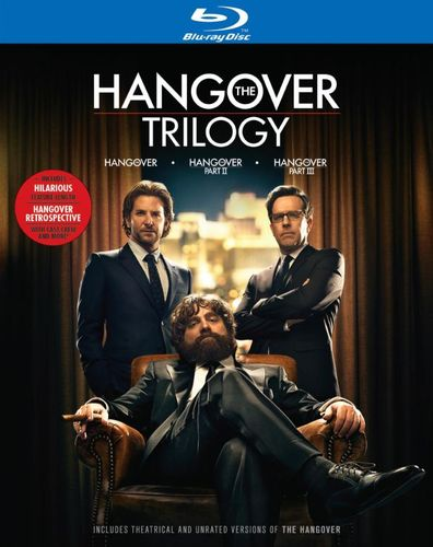 The Hangover Trilogy [4 Discs] [Blu-ray] 2884404