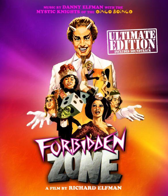 Forbidden Zone [Blu-ray/CD] [Blu-ray] [1980] 28851212