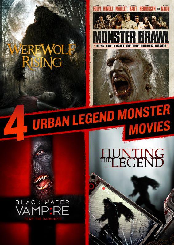 4 Urban Legend Monster Movies [DVD] 28858173