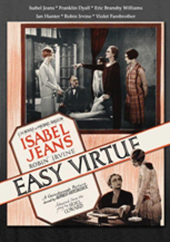 Easy Virtue [DVD] [1927] 28862151