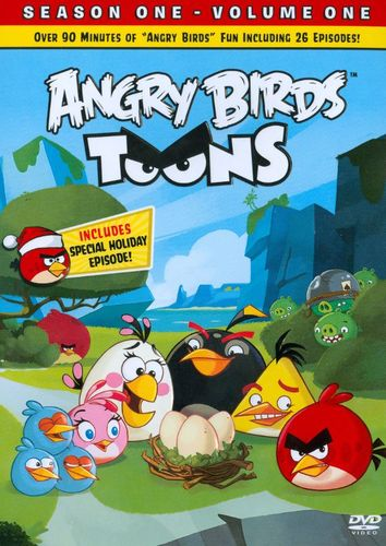 Angry Birds Toons, Vol. 1 [DVD] 2887396