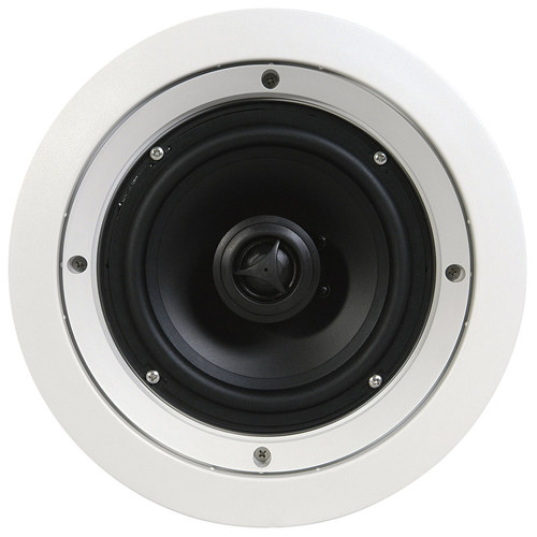 "SpeakerCraft - 6-1/2"" In-Ceiling Speakers (5-Pack) - White"