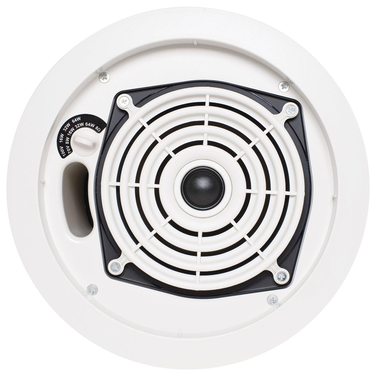 """SpeakerCraft - SC Pro Commercial 6-1/2"""" In-Ceiling Speaker (Each) - White"""