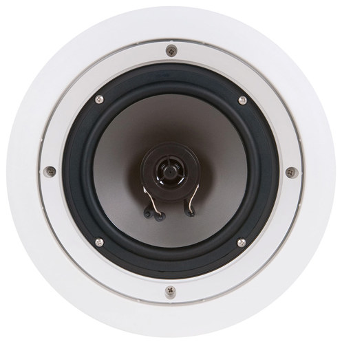 "SpeakerCraft - WH6.1R 6-1/2"" 2-Way In-Wall Speakers (5-Pack) - White"