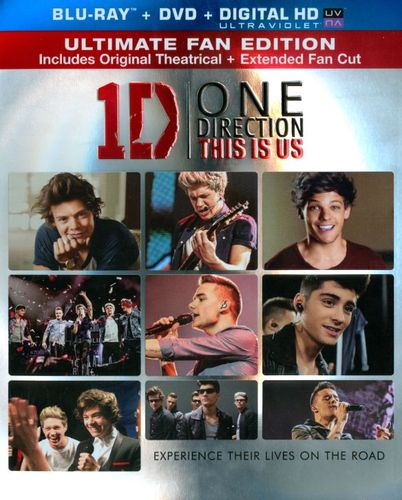 One Direction: This Is Us [2 Discs] [Includes Digital Copy] [UltraViolet] [Blu-ray/DVD] [2013] 2889507