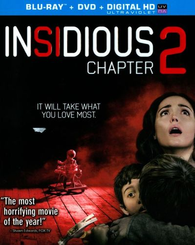 Insidious Chapter 2 [2 Discs] [Includes Digital Copy] [UltraViolet] [Blu-ray/DVD] [2013] 2889516