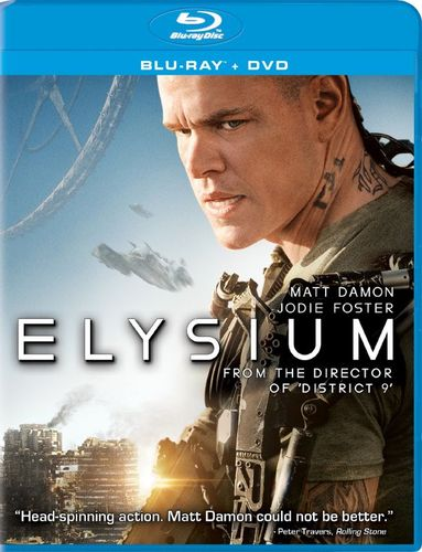 Elysium [2 Discs] [Includes Digital Copy] [UltraViolet] [Blu-ray] [2013] 2889525