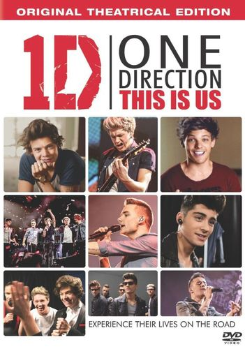 One Direction: This Is Us [Includes Digital Copy] [UltraViolet] [DVD] [2013] 2889552