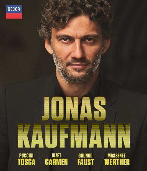 Jonas Kaufmann: Tosca, Carmen, Faust, Werther [Video] [Blu-Ray Disc] 28906365