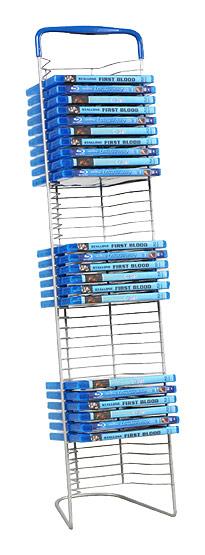 Atlantic - Nestable DVD Wire Rack - Gunmetal 2891291