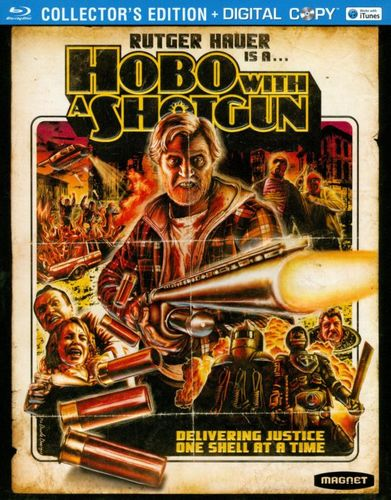 Hobo With a Shotgun [Blu-ray][Collector's Edition] [Includes Digital Copy] [2011] 2901678