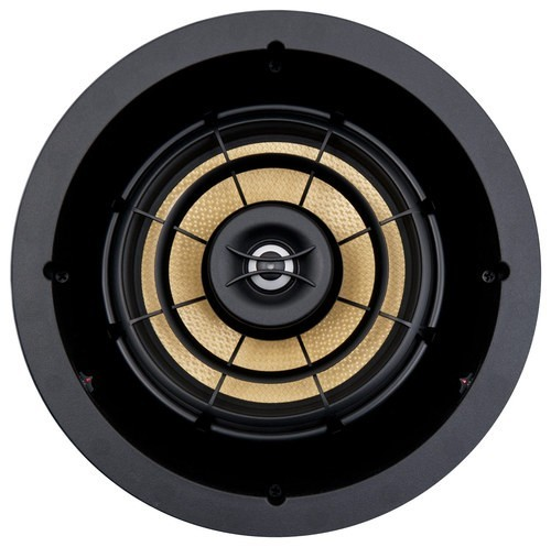 "SpeakerCraft - Profile AIM8 Five 8"" In-Ceiling Speaker (Each) - Black"