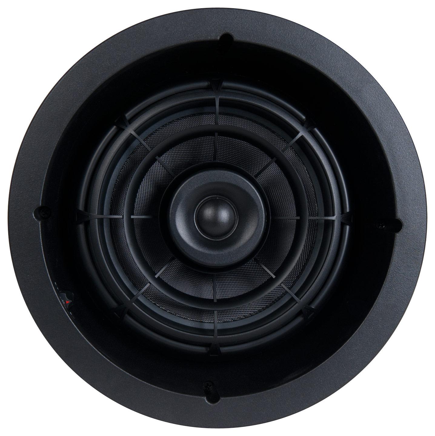 "SpeakerCraft - Profile AIM8 Two 8"" In-Ceiling Speaker (Each) - Black"