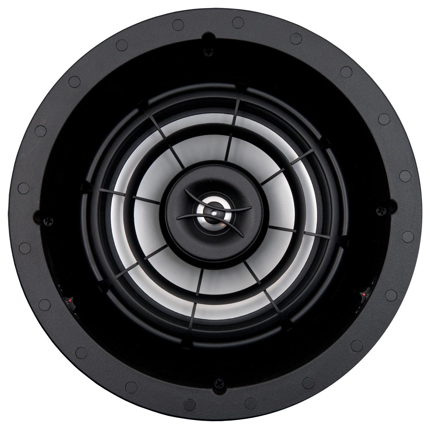 "SpeakerCraft - Profile AIM5 Three 5-1/4"" In-Ceiling Speaker (Each) - Black"