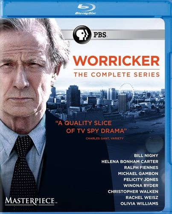 Masterpiece: Worricker: The Complete Series [Blu-ray] 29090529