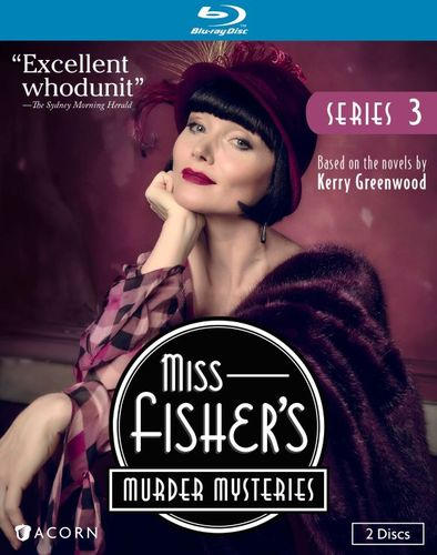 Miss Fisher's Murder Mysteries: Series 3 [Blu-ray] [2 Discs] 29094235