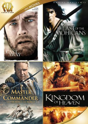 Cast Away/Last of the Mohicans/Master & Commander/Kingdom of Heaven [4 Discs] [DVD] 29102312