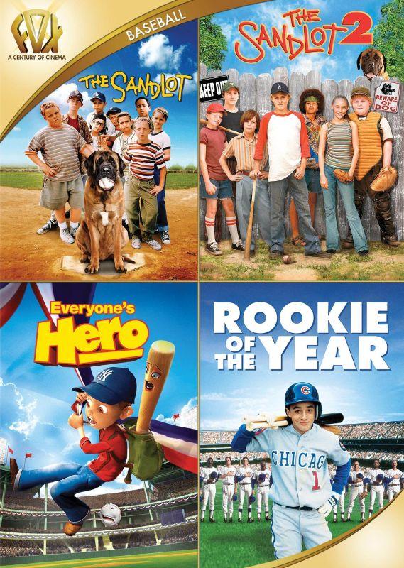 The Sandlot/The Sandlot 2/Everyone's Hero/Rookie of the Year [DVD] 29102321