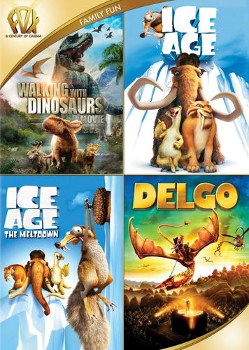 Walking with Dinosaurs/Ice Age/Ice Age: The Meltdown/Delgo [4 Discs] [DVD] 29103183