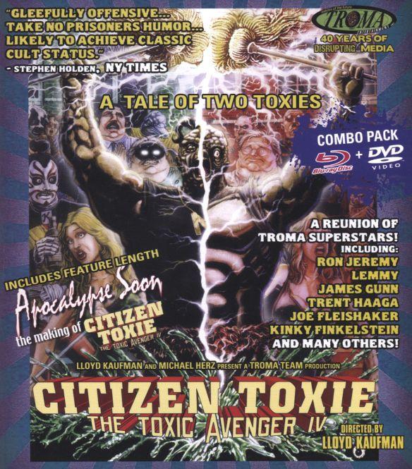 Citizen Toxie: Toxic Avenger IV [Blu-ray/DVD] [2 Discs] [2000] 29194207